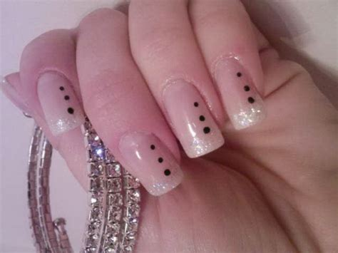 easy nail art classy links stylish but simple and easy nail art design collection
