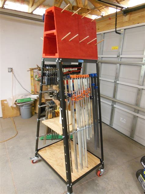 backpack rack for home rockler pack rack cl and tool storage system
