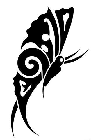 tattoo tribal images 25 awesome tribal butterfly only tribal