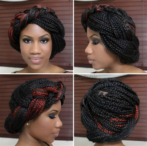 what type of hair for box braids how to style box braids hair beauty pinterest box