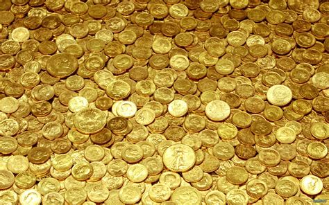 wallpaper of gold coins coins gold yellow money wallpaper 1920x1200 65636