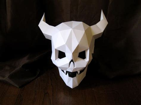 How To Make Scary Masks Out Of Paper - 1000 images about themed masks on