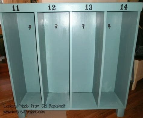 lockers made from bookshelf mycreativedays