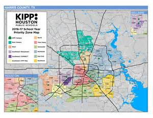 Tx Zip Code Map Free Lottery Kipp Houston Schools