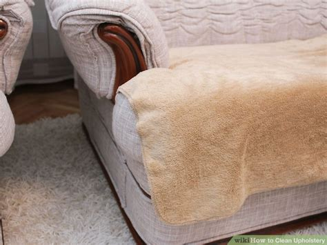 what to use to clean upholstery fabric how to clean upholstery with pictures wikihow