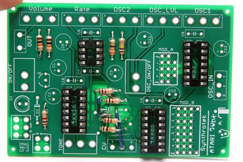 resistors function circuit board astronoise assembly synthrotek