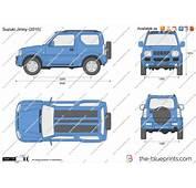 The Blueprintscom  Vector Drawing Suzuki Jimny
