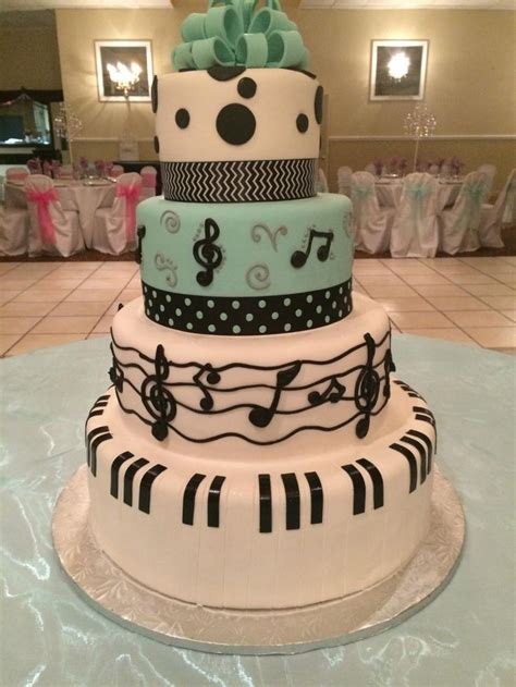 music theme quinceanera 46 best images about sweet 16 quinceanera cakes on