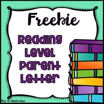 Parent Letter Explaining Guided Reading freebie fountas pinnell parent letters reading level