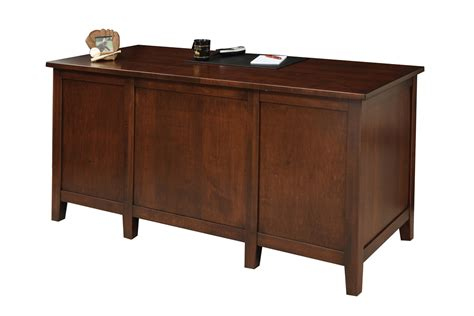 Manhattan Desk Amish Furniture Designed Amish Desk