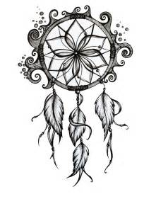 Dreamcatcher Template by Catcher Drawing Sketch Coloring Page
