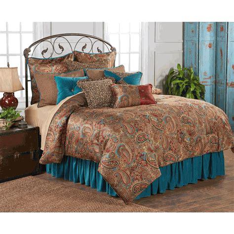 teal king bedding san angelo comforter set with teal bedskirt king