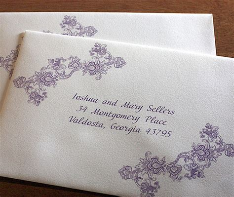 Clear Labels For Wedding Invitations