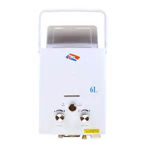 portable propane water heater 6l portable propane gas tankless hot water heater instant