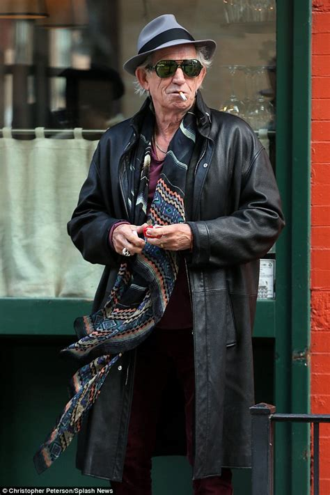 keith richards a in scarves rockins