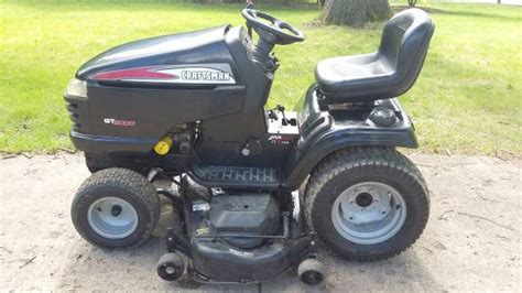Craftsman Gt5000 Garden Tractor With Snow Blower 1200