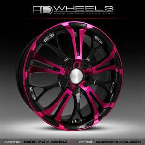 Truck Wheels With Pink 09 Site Temp Each Wheel Spinout