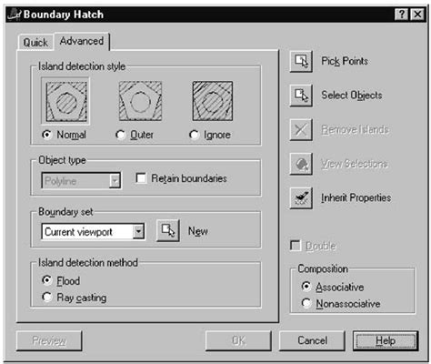 tutorial autocad vba filling with inner and outer loops macro izing solid