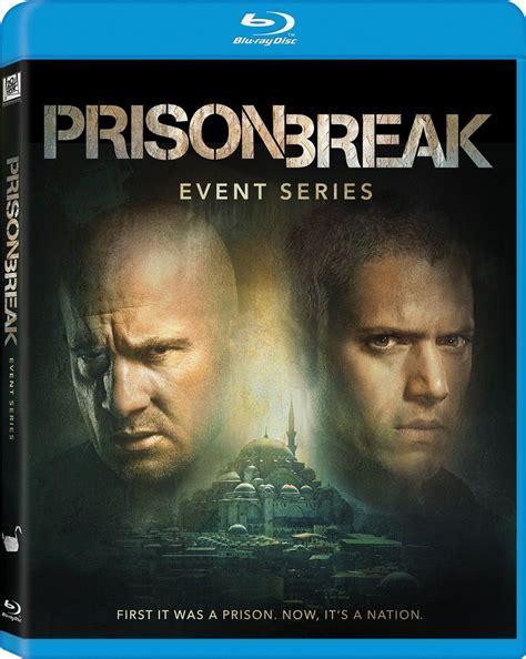 film serial prison break prison break event series dvd release date