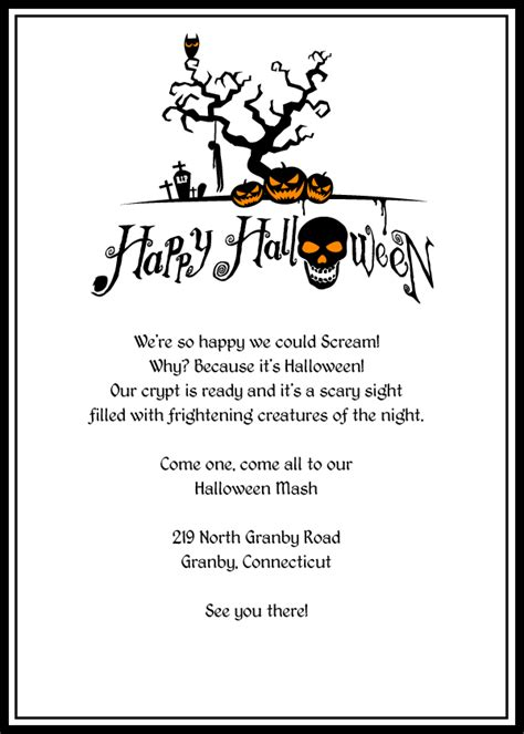 printable halloween invitations 6 best images of free printable halloween invitation witch