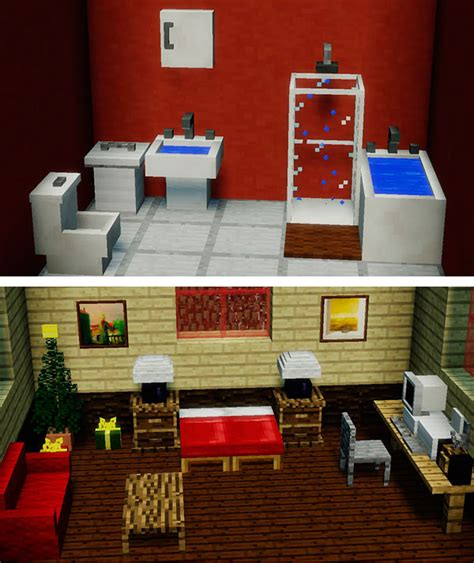 como decorar tu casa en minecraft sin mods mrcrayfish s furniture mod para minecraft 1 12 1 12 1 y 1