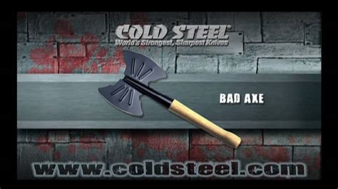cold steel bad axe bad axe cold steel knives
