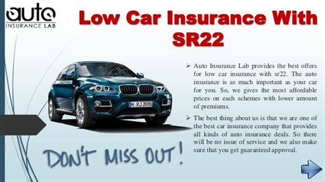 Car Insurance Finder by Find Out Cheapest Car Insurance With Sr22 And Get Low Prices