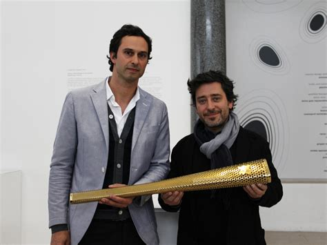 designboom ed thompson london olympic torch by barber osgerby wins design of the