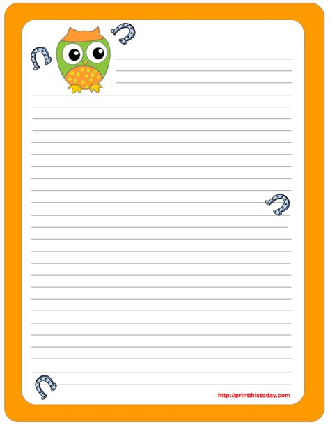 st day writing paper s day writing paper free printable