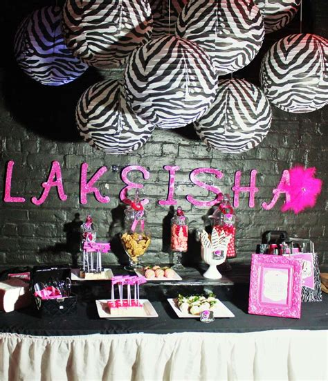 blackpink birthday birthday party decorations pink and black image