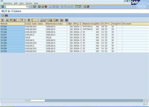 alv tutorial in sap abap abap program for creating an alv grid in 3 lines abap