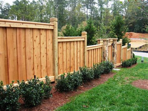 Inexpensive Privacy Fence Ideas For Backyard Wood Fence Ideas For Backyard