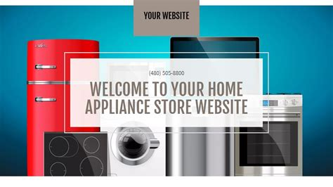 Home Appliance Store Website Templates Godaddy Godaddy Store Templates