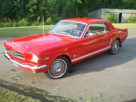 64 ford mustang for sale buy used 64 5 mustang coupe hipo 289 in sobieski