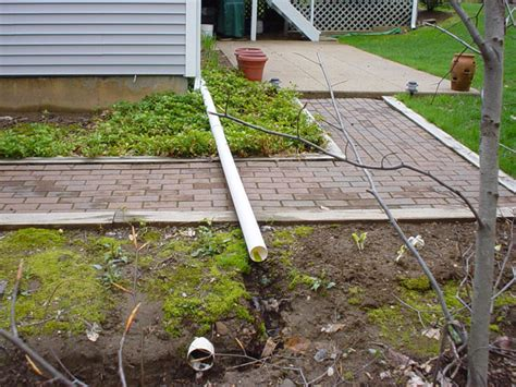 drainage system for backyard basement problems poor grading improper yard drainage
