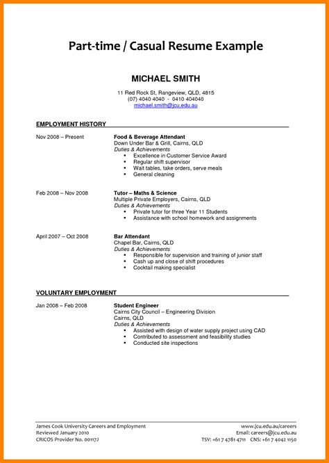 College Student Resume Objective Exles
