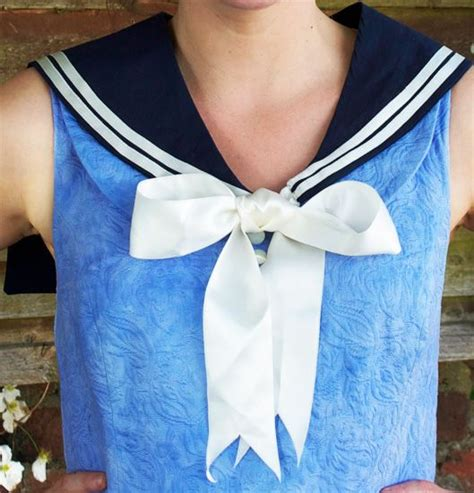 diy collar diy sailor collar fashion diys