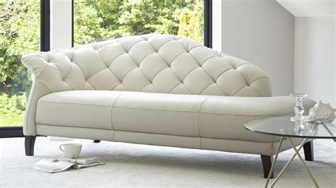 White Leather Sofa Uk White Leather Chaise Sofa Uk Home Everydayentropy