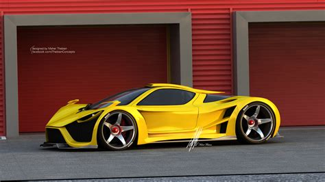 super concepts scorpion supercar by maher thebian at coroflot com
