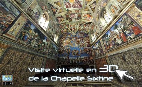 3d le le pictographe visite de la chapelle sixtine en 3d