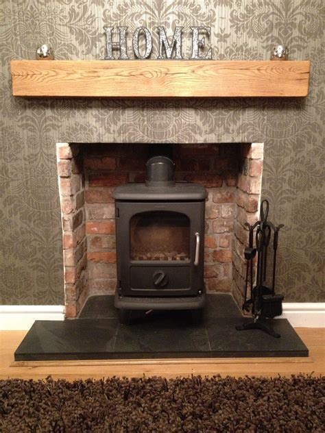 Brick Fireplaces For Wood Burning Stoves by Hearth Ideas For Wood Burning Stove Search
