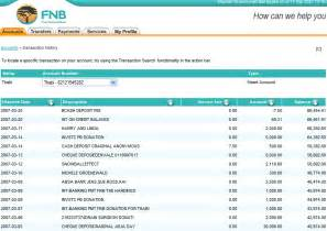 Fnb Business Plan Template 7 Bank Statement Template Procedure Template Sample