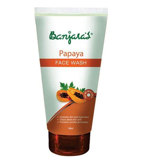 Wash Papaya Rewiu Sabun Mandi Pepaya banjaras papaya wash 100 gms 4 pack buy banjaras papaya wash 100 gms 4 pack at best