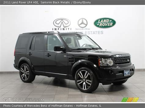 land rover lr4 black interior santorini black metallic 2011 land rover lr4 hse