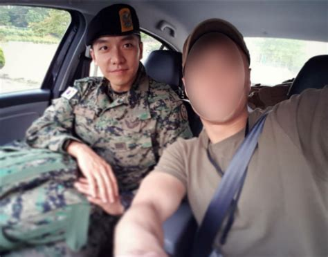 lee seung gi special forces an update on lee seung gi in the army allkpop