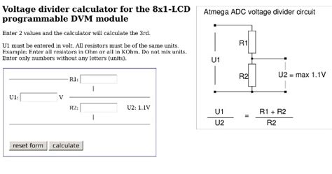 standard value resistor divider calculator standard resistor voltage divider calculator 28 images voltage divider calculator standard