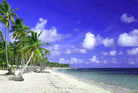 imagenes de paisajes tropicales fondo escritorio paisaje playa y palmeras tropicales