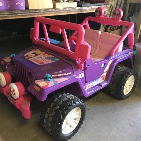 purple barbie jeep purple barbie jeep nex tech classifieds