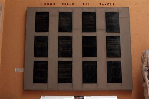 le 12 tavole romane le dodici tavole le prime leggi scritte di roma studia