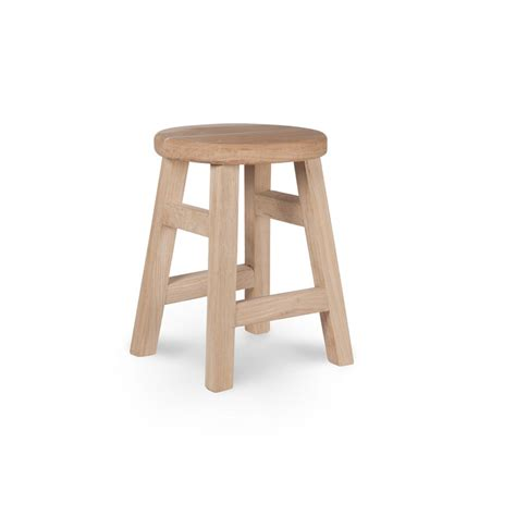 small stool oak by garden trading